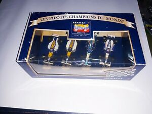 1-43-Renault-World-Champion-Set-Williams-Benetton-Schumacher-Prost-Mansell-Hill