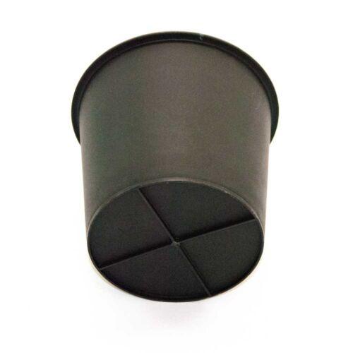 Kunststoffeinsatz rund konisch D34xH31cm schwarz