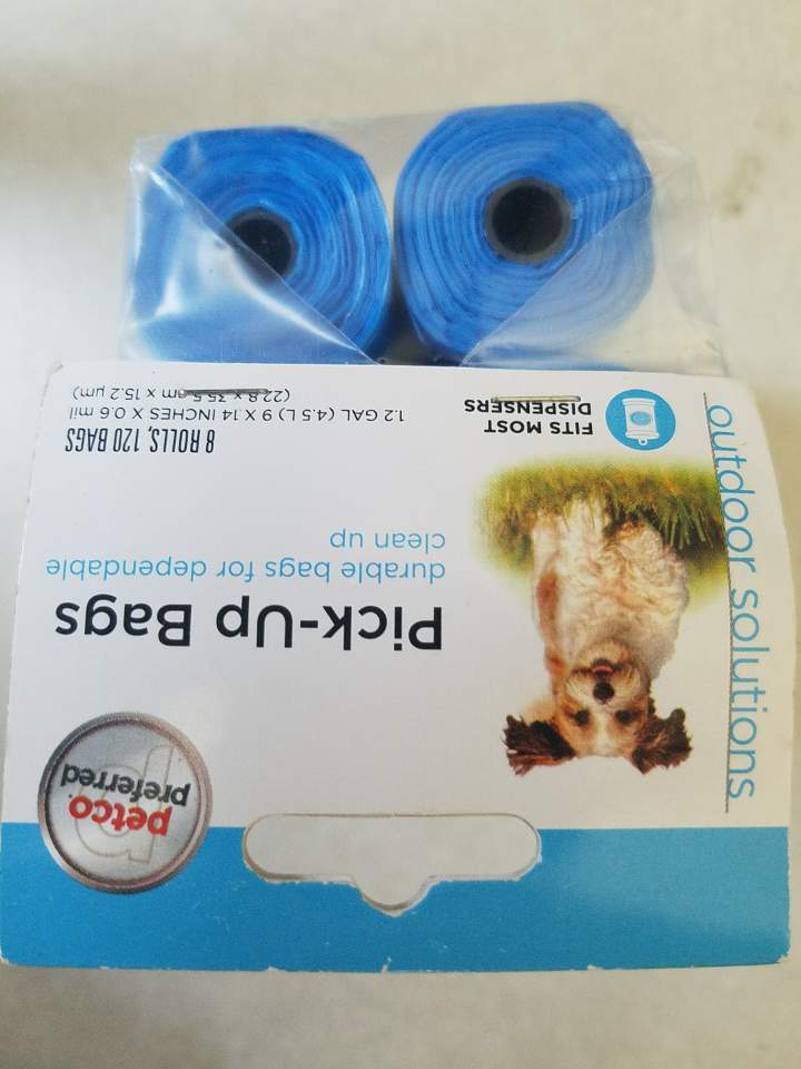 Petco Preferred Bags on a Roll 120 Ct 8 Rolls in Blue