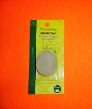 Tan Color Sewing 3 pack Needle Pullers Helps Grip Needle Thru Fabric Dritz