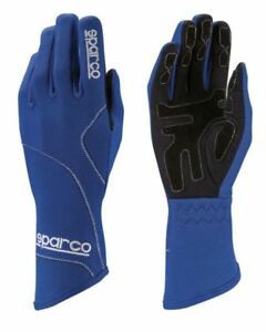 Sparco-Groove-GLOVES-size-4-12-Blue-KART-RACE-RALLY-Sport-Drive
