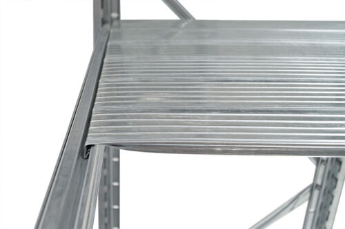 Fachbodenregal UNIRACK H2000*T600*L900-1500mm Schraub-//Stecksystem verzinkt
