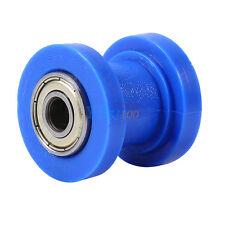 Blue 10mm Chain Roller Slider Tensioner Wheel Guide Pit Dirt Mini Bike Moto AP