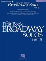 The First Book Of Broadway Solos Part Ii Soprano Edition Vocal 000001111