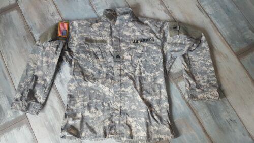 ARMY Jacke Hemd ACU Combat Field Jacket Hemd Small Long Digital
