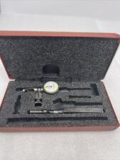 Starrett 711 Last Word Dial Test Indicator Withcase Body Clamp Shank Lot Lx