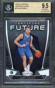 Luka-Doncic-Rookie-Card-2018-19-Certified-Certified-Future-3-Mavericks-BGS-9-5