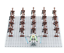 100-Pcs-Minifigures-Battle-Droid-Trooper-Character-Star-Wars-Lego-MOC miniature 14