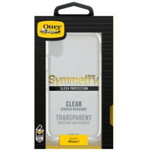 best service ca237 fdc57 Details about OtterBox Symmetry Series Clear iPhone X Case