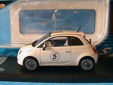 FIAT NUOVA 500 2007 #5 PEINTURE NACREE SOLIDO 1/43 NOUVELLE DECORATION ITALIA