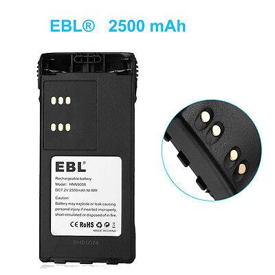EBL 3 Pack 7.2V 2500mAh Ni-MH Motorola Battery for HNN9008 HNN9009 ...