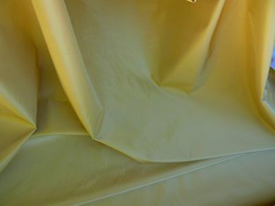 KRAVET 100%SILK w KNIT BACKED YELLOW GOLD SUNNY! BTY #1294