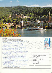 1990039s OLD TOWN amp RIVER NECKAR HEIDELBERG GERMANY COLOUR POSTCARD - <span itemprop=availableAtOrFrom>Weston Super Mare, Somerset, United Kingdom</span> - If the item you received has in any way been wrongly described or we have made a mistake regardless of the nature we will pay your return postage costs. If however the - Weston Super Mare, Somerset, United Kingdom