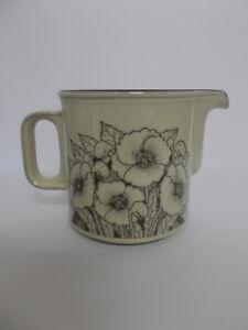 Hornsea-Gravy-Jug-Cornrose-Floral-Vintage-Lancaster-Vitramic-Lovely