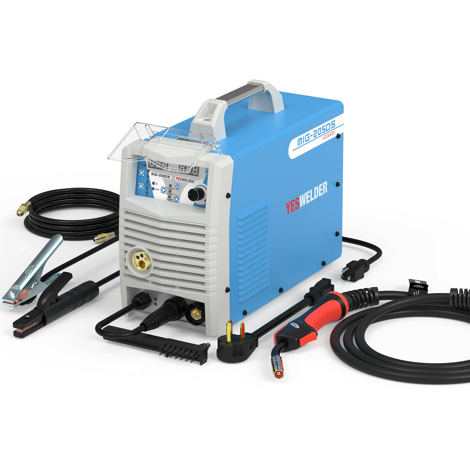 3in 1 MIG Welder 160A@ 110V/200A@220V MIG Lift TIG Stick Welding Machine. Buy it now for 335.39