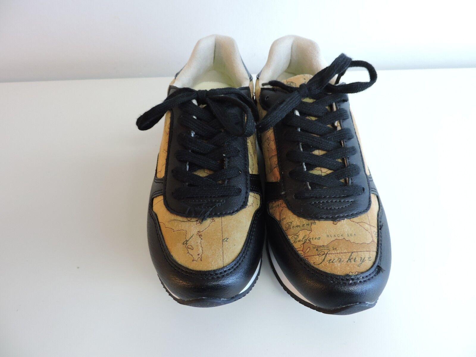 zapatos zapatillas zapatillas zapatillas STRINGATA ALVIERO MARTINI  negro GEO BEIGE  ventas en linea