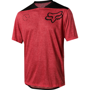 Fox Racing 2018 Indicator s s ASYM Jersey Bright Red