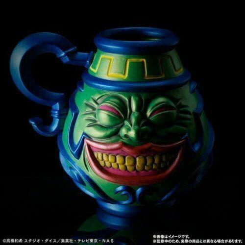 Yu-Gi-Oh Yugioh Pot Of Greed Hakuun Pottery Premium BANDAI limited Very Rare