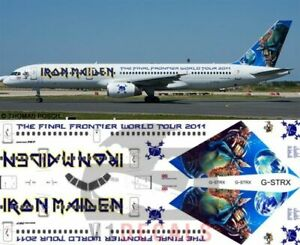 V1 Decals Boeing 757-200 Iron Maiden for 1/144 Minicraft Model Airplane Kit