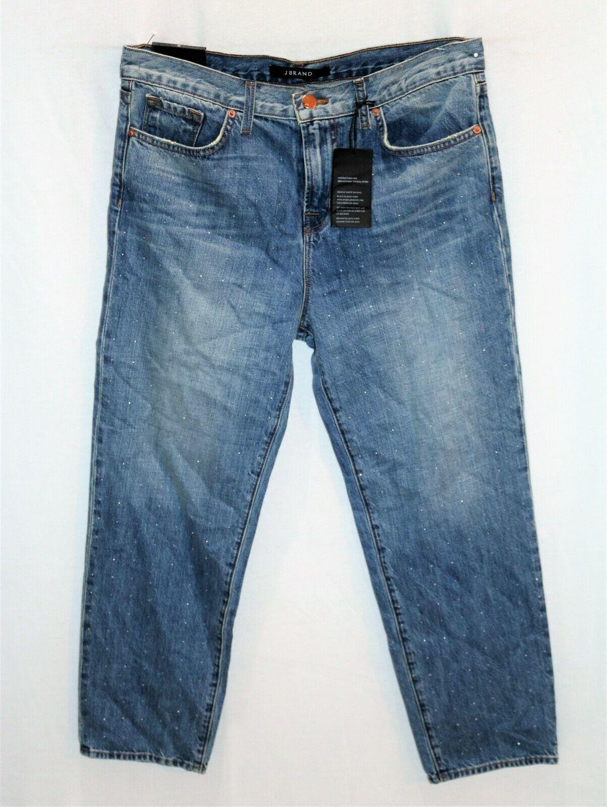 J BRAND Brand bluee Ace Cropped Bodyfriend Denim Jeans Size 26