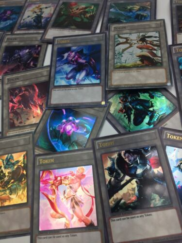 5 Yugioh Custom Made Full Super Ultra Token Cards Random Lot League Of Legends