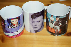 Rare-David-Bowie-Set-of-3-Mugs-Various-Themes-All-from-Cabinet-Unused-Order-ST3