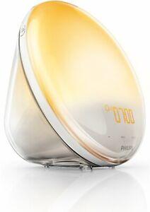 PHILIPS-Eveil-Lumiere-HF3520-01-Radio-FM-et-Lampe-de-Chevet-Auto-ajustable