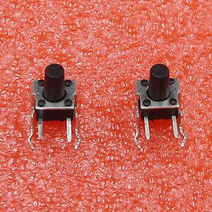 20Pcs-6x6x9mm-rechter-Winkel-2-Pin-federnd-Taktile-Takt-Push-Button-Switch