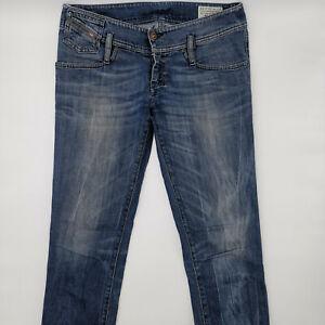 Diesel Matic Wash 0083A_Stretch W26 L32 blau Damen Jeans Designer Denim Hose VTG