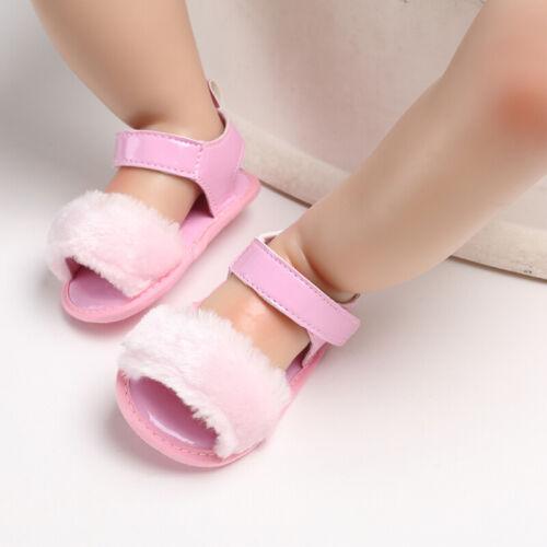 Arrival Baby Girl Pram Shoes Infant Child Summer Sandals Size 3 6 9 12 18 Months