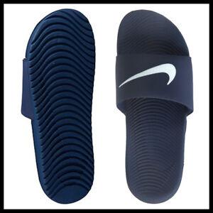 8ffb42c73a5 Image is loading NEW-Men-039-s-Navy-Blue-Nike-Kawa-