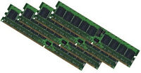 4x 4GB 16GB DDR2 RAM Speicher HP Proliant DL360 G4p ECC Registered PC2-3200R