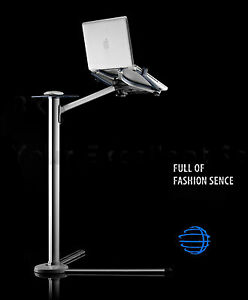 Laptop-Floor-Bed-Stand-Height-Adjustable-amp-360-Rotating