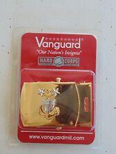USCG COAST GUARD E-9 MR CHIEF PETTY OFFICER RATES UNIFORM PANTS GOLD BELT BUCKLE