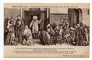 CPA-01-eglise-d-039-ARS-peinture-de-la-chapelle