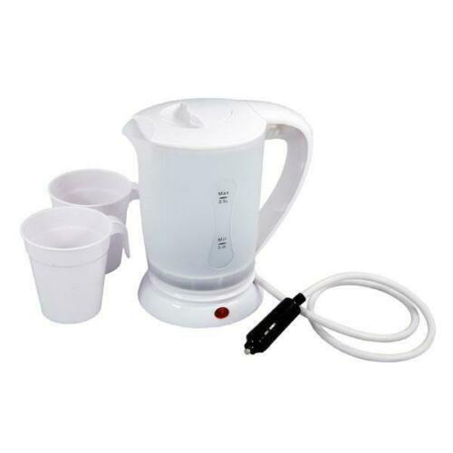 Electric Kettle 12 Volt 0.5LT Camping Equipment In Car Charging