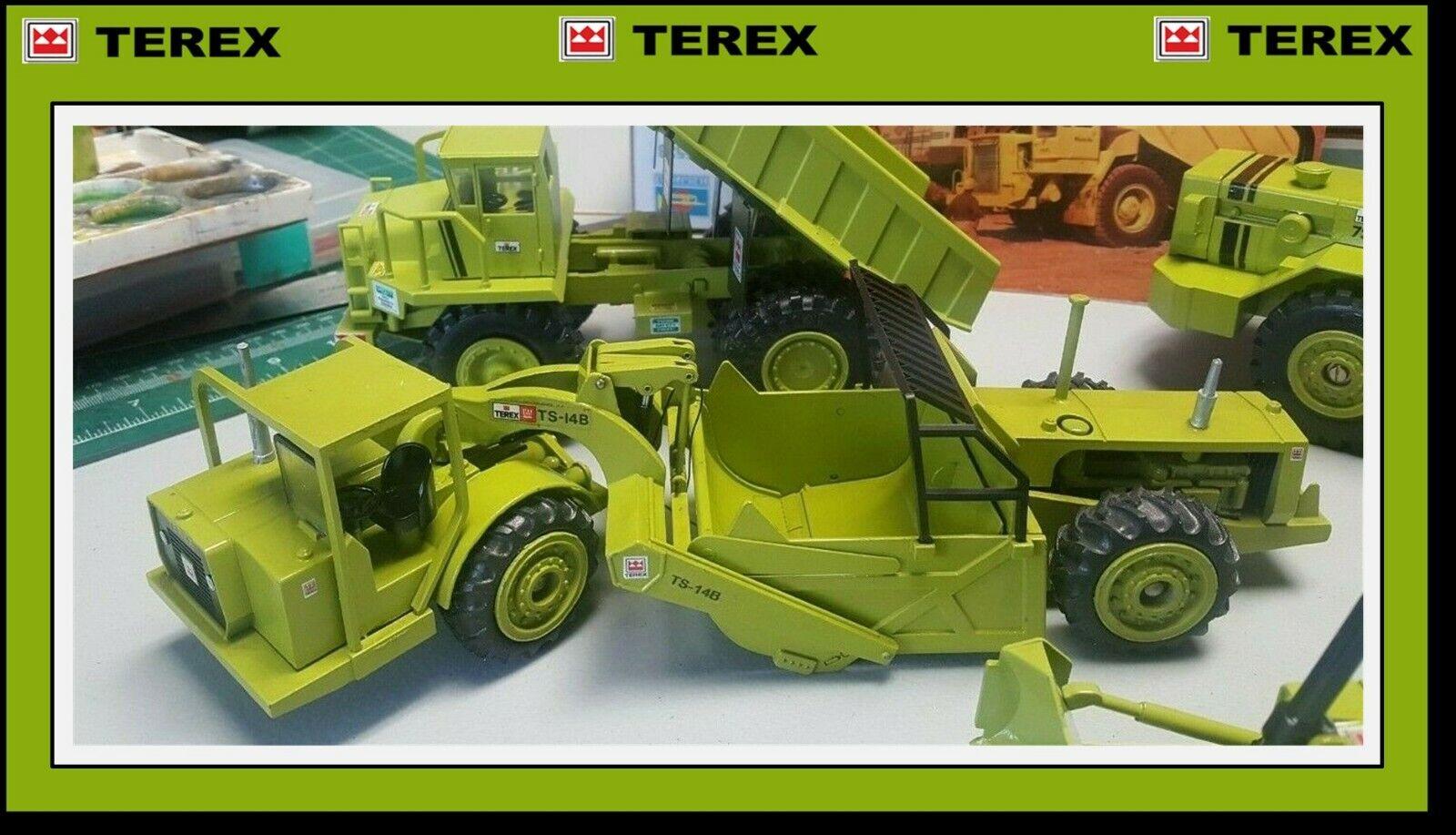 1 40 Conrad Conrad Conrad TEREX TS-14B Scraper New Pricing ad3401