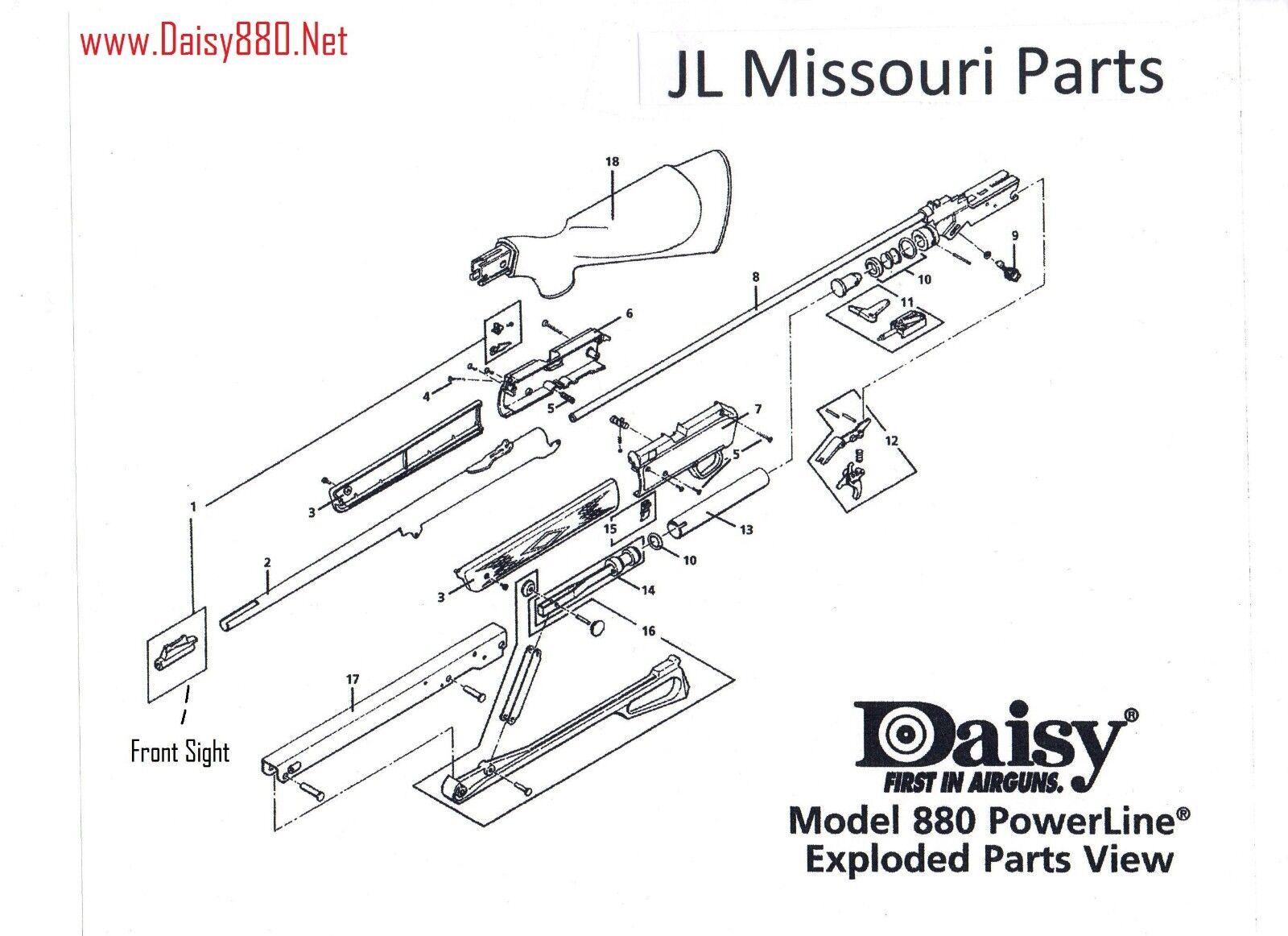 Gamo Benjamin Air Rifle Parts Diagram Wwwtollebildcom