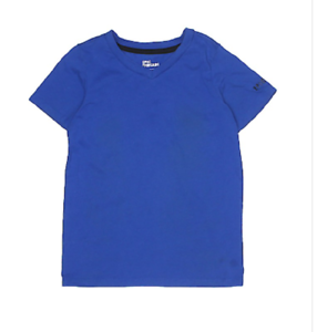Epic Threads Boys/' 8-20 V-Neck T-Shirt with logo on sleeve in Lazulite Size Med
