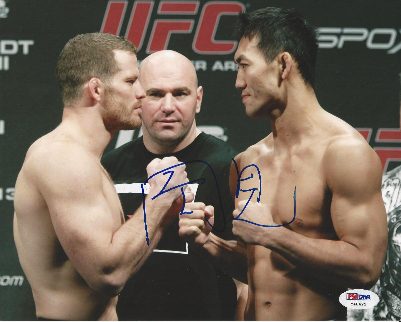 Yushin Okami UFC Fighter signed 8x10 photo PSA/DNA # Y48422