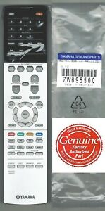 Details about New Yamaha RAV555 ZW69550 Audio Receiver Remote Control fits  RX-A670 RX-A670BL