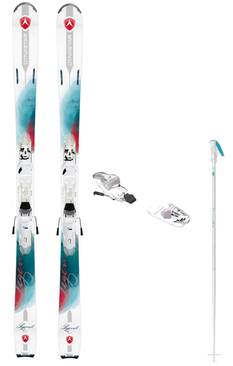 Dynastar Legend W 75 snow skis 156 cm w-bind (incl POLES at Buy It Now) new 2019