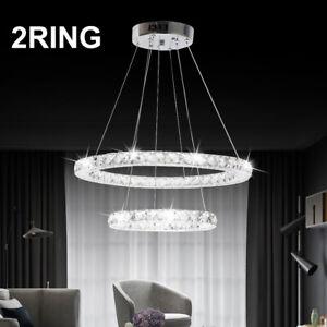 Modern Led Crystal Light Ring
