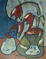 Bohumil Samuel KECIR (1904-1987) Blumen Nr. E26