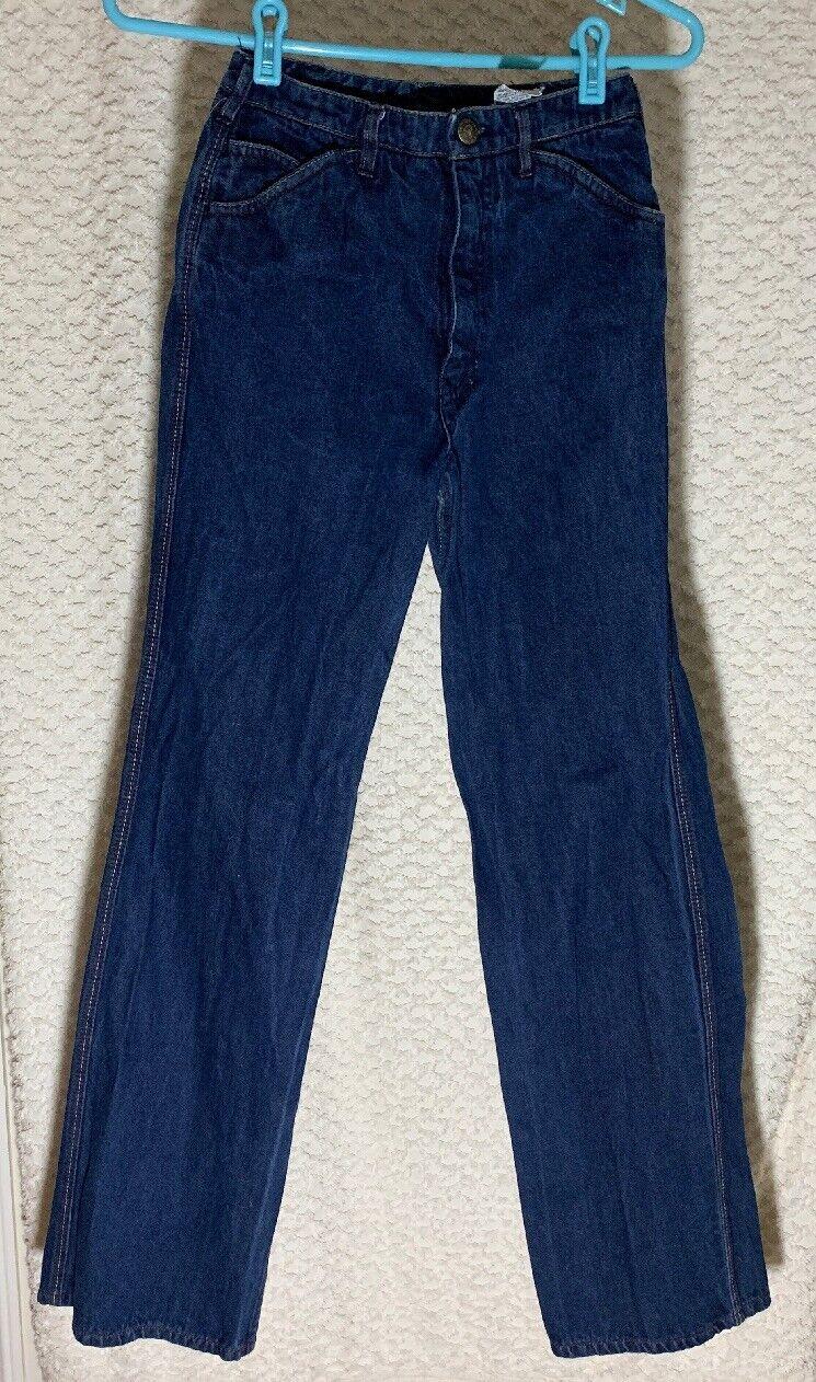 """Vintage N Est Ce Pas indigo denim jeans 24"""" waist… - image 2"""