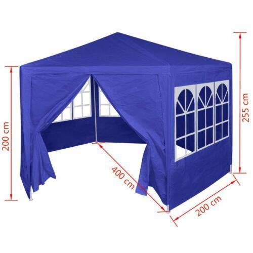 Hexagonal Garden Pop Up Tent Marquee Gazebo Cover Shelter Awning PE Waterproof
