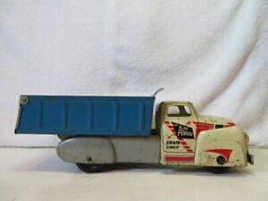 Vintage Wyandotte Arrow Truck Lines Lithograph Truck