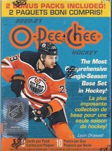 2020-21-Upper-Deck-O-Pee-Chee-Factory-Sealed-Hockey-Blaster-Box