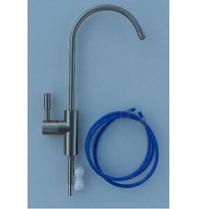 Gemme de l'eau l'eau potable disque en céramique levier unique robinet brossé Nickel  </span>