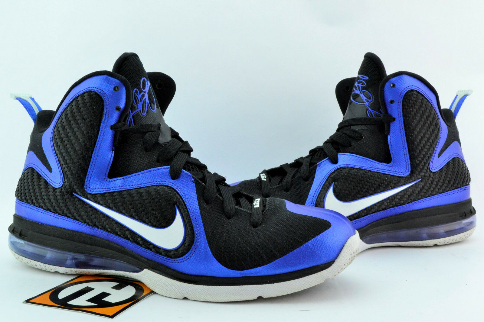 Nike LeBron 9 Kentucky Varsity Royal White Size 10 2011' 469764 400
